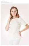 Veste à manches courtes en Angora laine