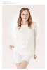 underwear shirt in Angora with long sleeve