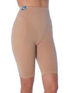 Pantaloncino corto anticellulite contenitivo, guaina snellente modellante