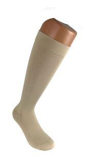 Gambaletto elastico uomo cotone a compressione graduata leggera (14-16 mmHg)