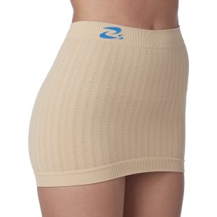 Seamless body band in microfiber