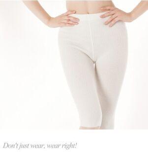 Sottopantalone, Pantaloncino medio (capri) in lana d'Angora