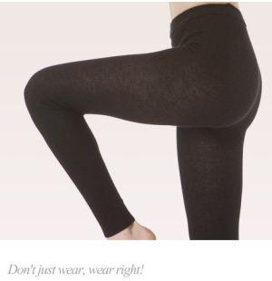 Sottopantalone, Pantacollant - Leggings in lana d'Angora