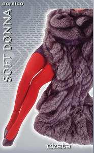 Ladies soft winter tights - 6 pairs