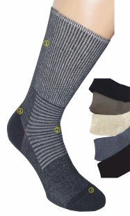 Пробная упаковка носков для больных диабетом, 4 пары за 20,00€.
