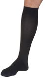 Support unisex knee-high in microfibre
