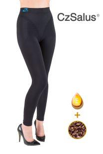 Leggings anticellulite contenitivo, pantaloncino snellente con Caffeina + Vitamina E