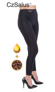Leggings contenitivo anti cellulite push-up con microcapsule caffeina + vitamina E