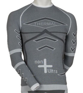 Thermo-Sportunterhemd mit langen Ärmeln, Unisex mit emana® und Dryarn