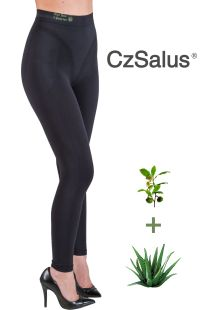 Leggings anticellulite contenitivo, pantaloncino guaina snellente con Aloe Vera + Tè verde
