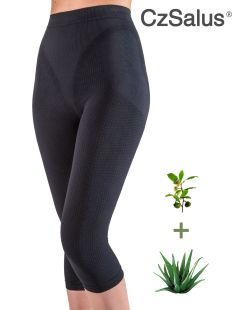 Capri long shorts anti-cellulite avec micro-capsules contenant de l'Aloe Vera + Thé vert