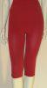 Combo, offerta due pantaloncini corto+midi snellente anticellulite, guaina colore rosso Cherry