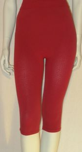 Shorts anti-cellulite minceur gaine+Midi Capri legging Cherry