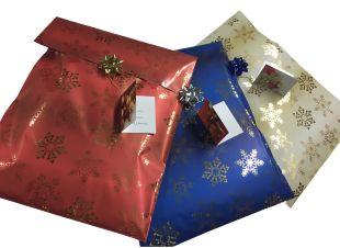 Geschenkverpackung mit Glückwünschen AKTION