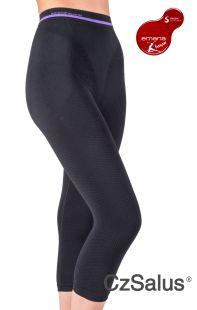 Pantaloncino capri anticellulite contenitivo, guaina termica snellente in Bio-Fir emana®