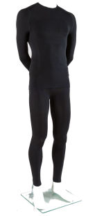 Thermal unisex Sport suit (vest+leggings) with emana® and Dryarn