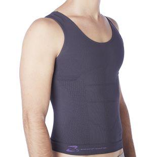 Figurformendes Herren Unterhemd aus Bio-Fir emana®, mit Schlankheits Effekt