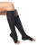 Medical support knee-high (K2) Graduated compression 200 DEN, without toe