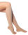 Medical support knee-high (K1) Graduated compression 140 DEN, open toe