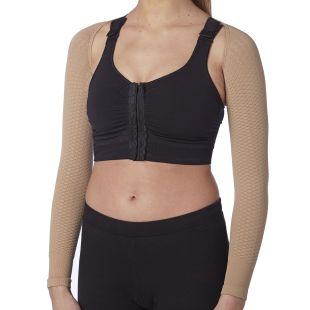 Compression K1 massaging arms sleeves, Lipedema and Lymphedema support