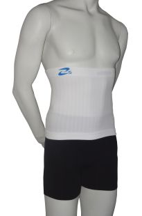 Seamless body band in microfiber for man