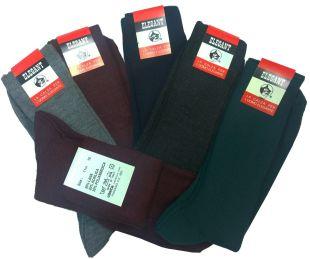 Promotion 6 paires de chaussettes homme courtes en laine