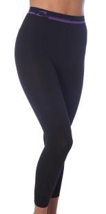 Elegante, schlankmachende lange Hose, Leggings mit Push-Up-Effekt mit Koffein