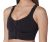 Extra comfort compression bra with front opening and lace