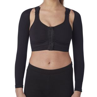High compression Bolero, massaging arms sleeves big sizes for Lipedema, Lymphedema diseases