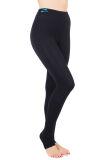 Pantalón largo al pie, mallas adelgazantes de compresión alta para lipedema y linfedema