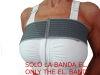 Elastischen Band nützlich, um Brustimplantate zu stabilisieren, wird verwendet, um die Höhe und Position der Prothesen