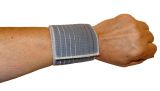 elastic cuff, useful  to cure distortion or tear on wrists
