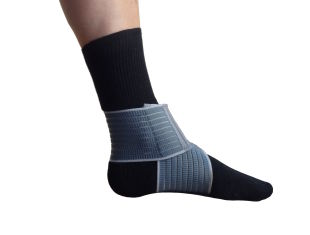 elastic ankle band, useful  to cure distortion or tear