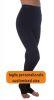 Pantalón largo al pie, (Tamaño personalizado) mallas adelgazantes de compresión media para lipedema y linfedema