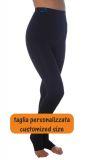 Pantaloncino lungo, trama piatta e compressione media MISURE PERSONALIZZATE aiuto per Lipedema Linfedema