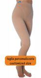 Pantaloncino lungo trama piatta, a compressione più alta MISURE PERSONALIZZATE, aiuto per Lipedema Linfedema