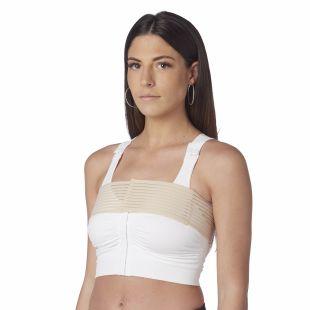 Reggiseno speciale Post operatorio con banda stabilizzatrice per aumento e/o riduzione seno - Mastoplastica