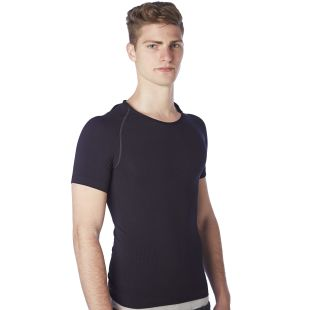 Men slimming  vest with short sleeves