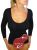 Shaping Thermal slimming long sleeves woman vest anti cellulite in emana bioFIR yarn
