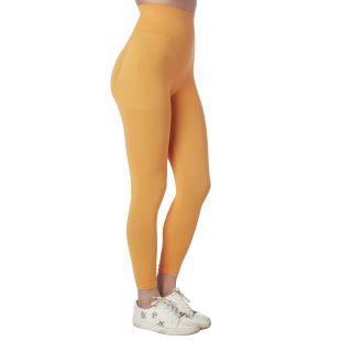 Pantaloncino lungo tempo libero YOGA con push-up