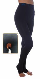 Post opératoire version Lipœdème, soutien du lymphœdème, leggings K2 à compression élevée, entrejambe ouvert
